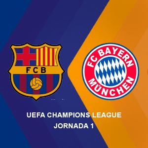 Betsson Ecuador: Barcelona vs Bayern